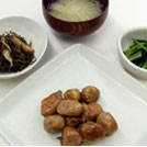 鶏肉と里芋のくわ焼き