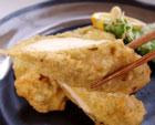 鶏の昆布〆揚げ