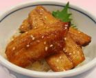 秋刀魚の蒲焼丼