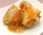 白身魚お野菜餡